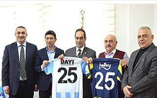B.B Erzurumspor'a tebrik yağıyor!