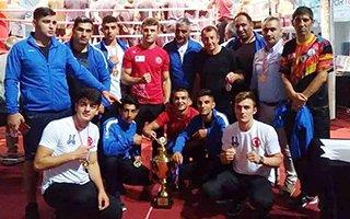 Erzurum Boksta Türkiye üçüncüsü oldu