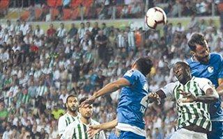 Erzurumspor'un 3 maçlık 'en'leri