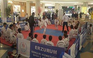 MNG AVM'de Spor Gösterileri