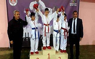 Erzurum'da karate rüzgarı esiyor