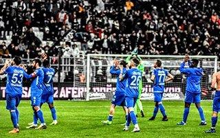 Alkışlar B.B Erzurumspor'a