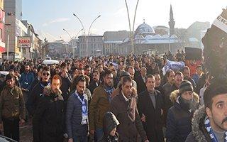 Dadaşlar MHK ve TFF'yi Protesto Etti