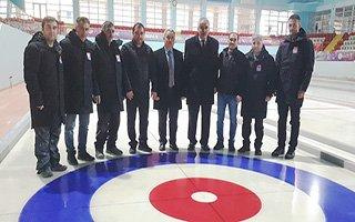 Curling salonu liglere hazır hale getirildi