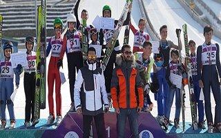 Okullararası Kayakla Atlama Yarışması yapıldı