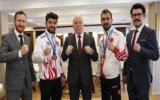 Kick Boks Türkiye Şampiyonası Erzurum'da