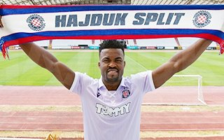 Samuel Edouk Hajduk Split takımı ile anlaştı