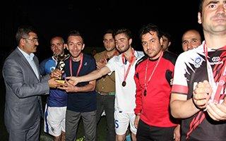Erzurum'da kurumlar arası futbol turnuvası