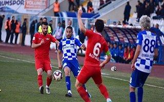BB Erzurumspor 2 puan kaybetti