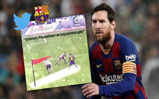 Barcelona ve Lionel Messi'ye Erzurum daveti