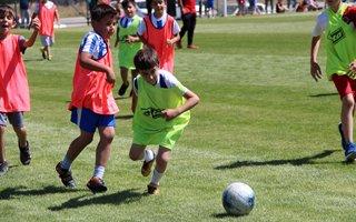 Erzurum'da geleceğin futbol yıldızları seçiliyor