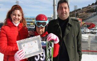 Kayak öğrencileri sertifikalarını aldılar