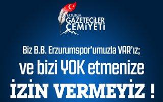EGC'den çok sert BB Erzurumspor tepkisi!
