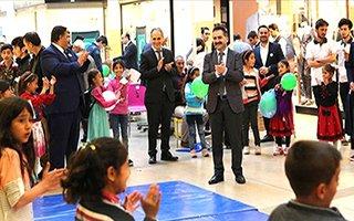 Karaçobanlı çocuklar Erzurum'da ilkleri yaşadı!