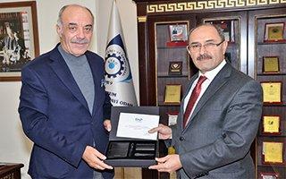 DAP Başkanı Demir'den Yücelik'e Ziyaret