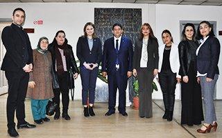 Kadın Girişimcilerden Hakan Oral'a ziyaret