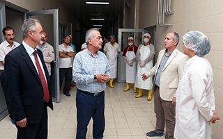 Süt Fabrikasının yenilenme işlemi tamamlandı