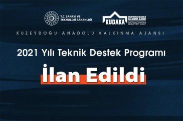 KUDAKA teknik destek programı açıklandı