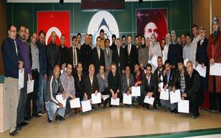 ABİGEM'den 90 kursiyere sertifika