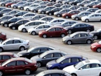 Araç sayısında rekora koşuluyor