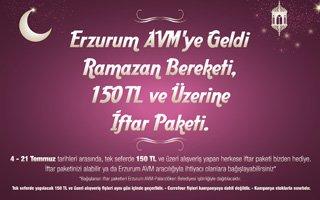 Erzurum AVM'den Ramazan kampanyası