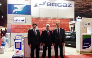 ERGAZ-Bluepet Teknoloji ve Sanayi fuarında
