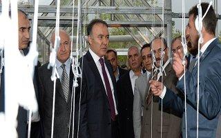 Doğuya umut veren sera Erzurum'da açıldı