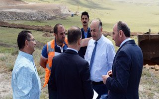 Vali Azizoğlu 2. OSB Çalışmalarını İnceledi