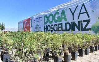 Erzurum'da Fidan Üretim Merkezi Açıldı