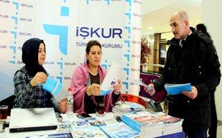 İşkur'dan Palerium AVM'de bilgilendirme standı