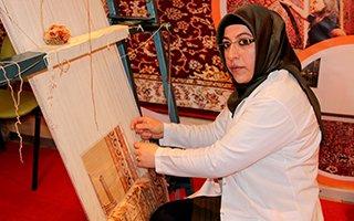 Hereke halıları Türkiye'ye pazarlanıyor