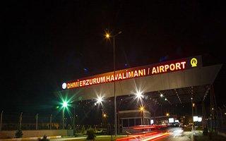 Erzurum Havalimanı 611 bin yolcu ağırladı