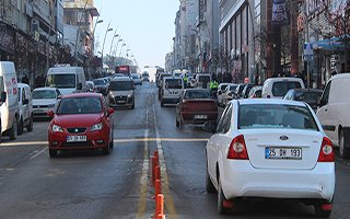 Erzurum araç varlığında yüzde 5.1'lik artış