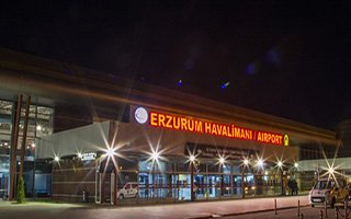Erzurum Havada Uçuşa Geçti