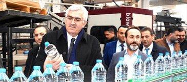Başkan Öz, Desni Su Tesislerini gezdi...