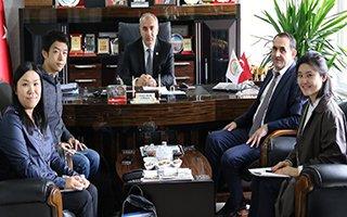 Japonlar Çoruh Nehri Projesi için Erzurum'da