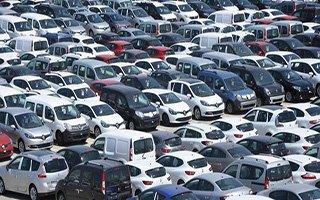 Erzurum'da araç sayısı arttıkça artıyor!