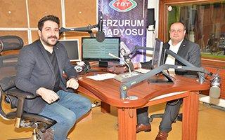 TRT Erzurum Radyosu'nda ETSO konuşuldu