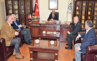 Başkan Sekmen ve AK Parti'den ETSO'ya ziyaret