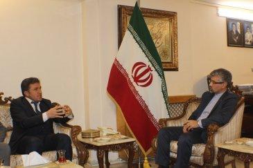 MÜSİAD'dan İran Başkonsolosluğuna ziyaret