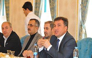 MÜSİAD Erzurum Şubesi yeni yönetimini basına tanıttı