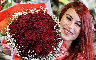 Erzurum'da seçimin kazananı çiçekçiler oldu