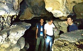 İspir Elmalı mağarası dünyaya tanıtılacak