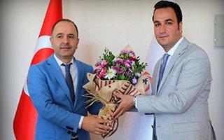 Ömer Düzgün görevini Murat Söylemez'e devretti