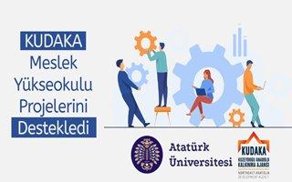 KUDAKA'dan Yüksekokul projelerine destek