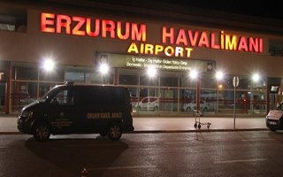 Erzurum'da uçak trafiği yüzde 53 geriledi