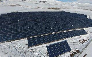 Aziziye Güneş Enerji Santrali'nde üretim başladı