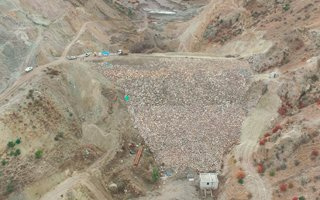 Şenkaya'da Geomembran Kaplı Baraj Yapılıyor!