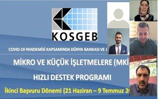ETSO KOSGEB temsilciliği'nden bilgilendirme