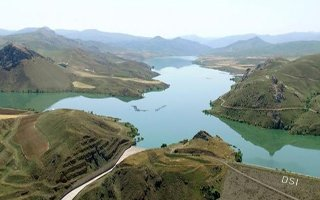 Tercan barajı balık üretim üssü oluyor